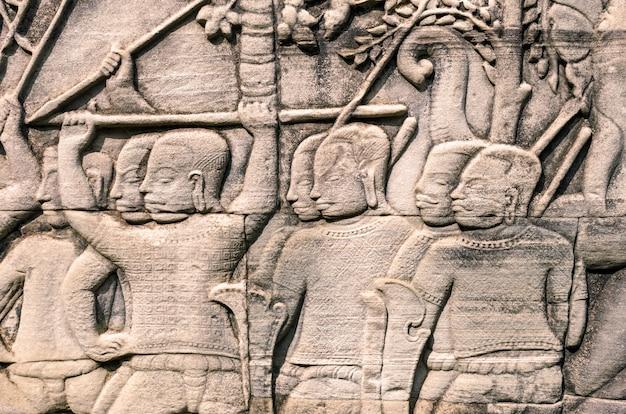 Bajorrelieve del templo bayon