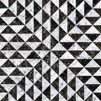 Baldosas de granito. mosaico de piedra natural.