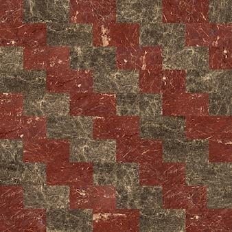 Baldosas de mármol. mosaico de piedra natural pulida.