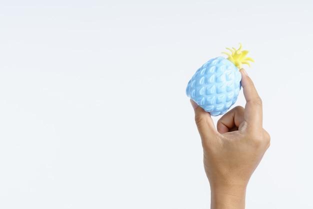Balón de estrés para el alivio del síndrome del túnel carpiano