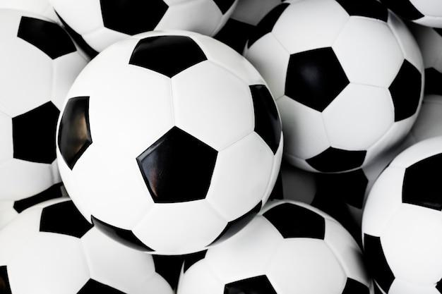 Pelotas De Fútbol El Descanso Descargar Fotos Gratis