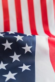 Bandera americana de estrellas y rayas