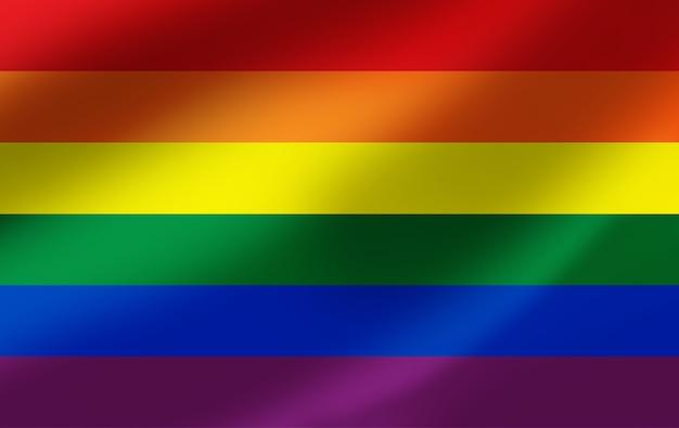 Bandera del arco iris bandera del orgullo lgbt