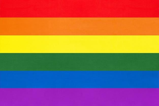 Bandera del arco iris, símbolo de la comunidad lgbt.
