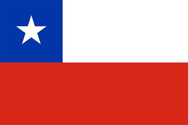 Bandera chilena de chile