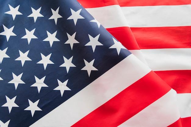 Bandera de estados unidos aleteo