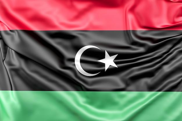 Bandera de líbia