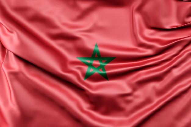 Bandera de marruecos