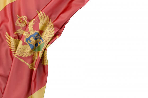 Bandera, de, montenegro