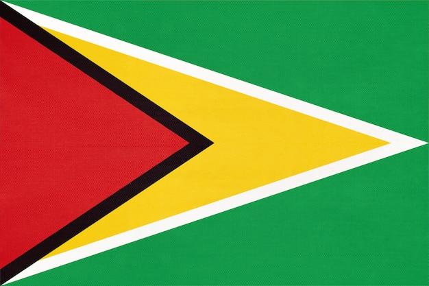 Bandera nacional de tela de guyana