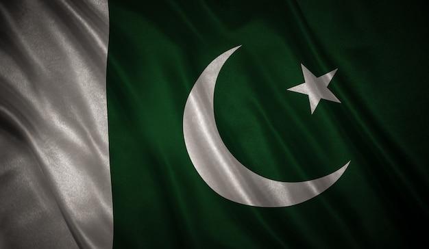 Bandera, de, el, pakistán