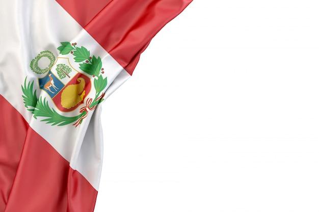 Bandera del peru