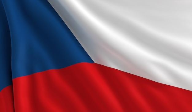 Bandera de republica checa