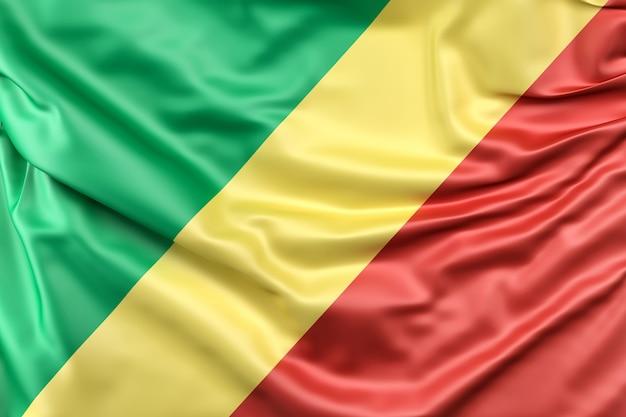 Bandera de la república del congo