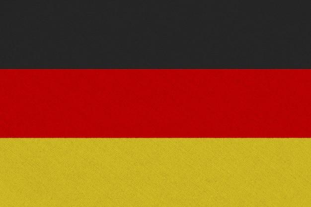 Bandera de tela de alemania