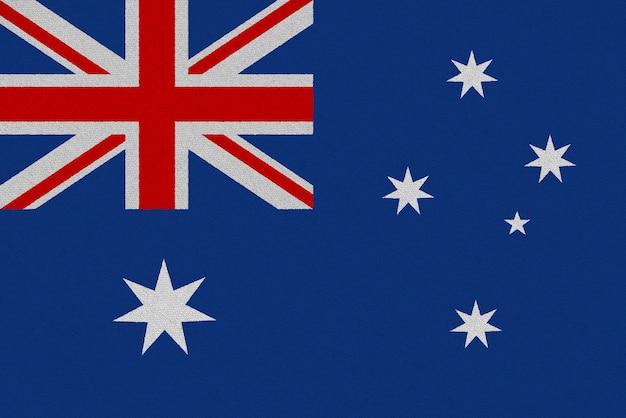 Bandera de tela australia