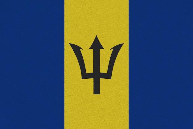 Bandera de tela de barbados