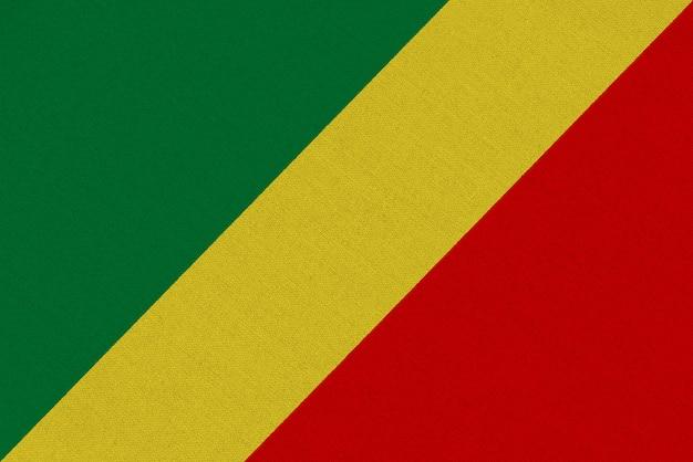 Bandera de tela congo