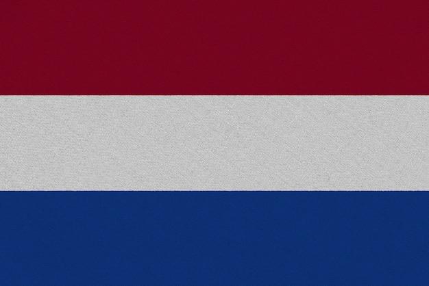 Bandera de tela holandesa