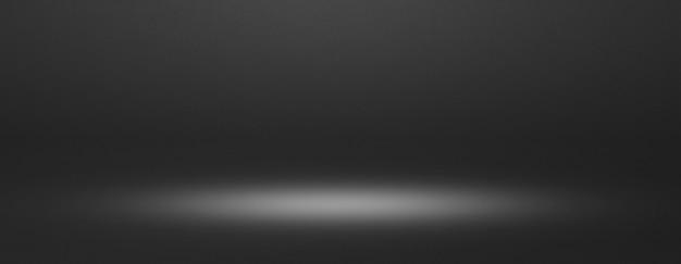 Banner de fondo interior negro