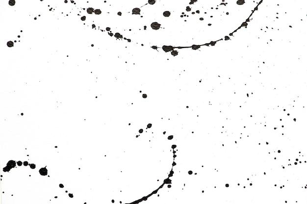 Banner de gota de acuarela monocromo