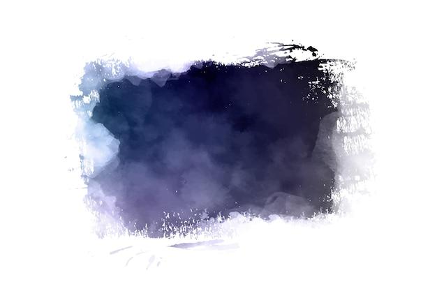 Banner de trazo de pincel moderno