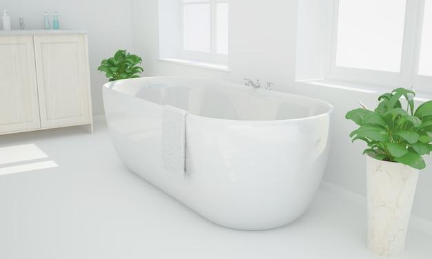 Baño de render