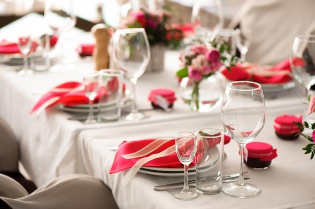 Banquete en un restaurante, fiesta en un restaurante.