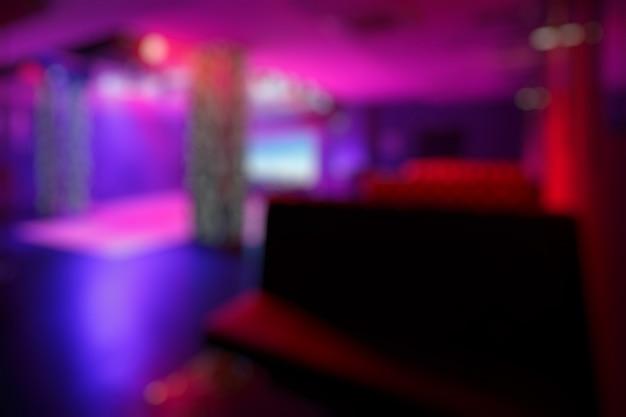 Bar desenfocado