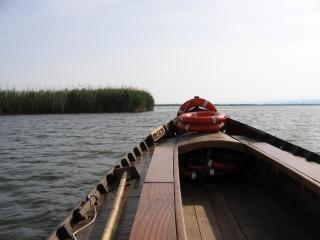 Barco de turismo en valencia - albufera, el mar