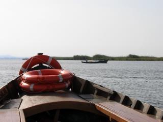 Barco de turismo en valencia - albufera