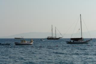 Barcos de vela, navegación a vela