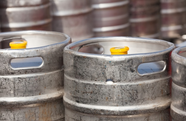 Barriles de cerveza de aluminio