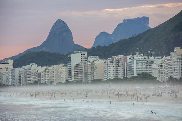Barrio de copacabana en rio de janeiro