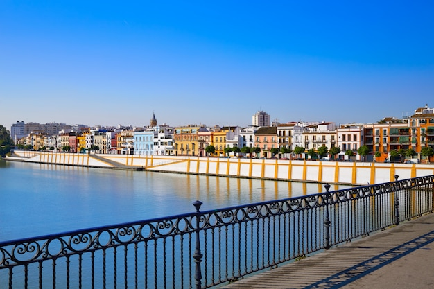 Barrio triana de sevilla andaluza
