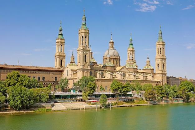 Basílica catedral de zaragoza, aragón, españa