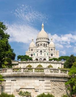 La basílica del sagrado corazón de parís