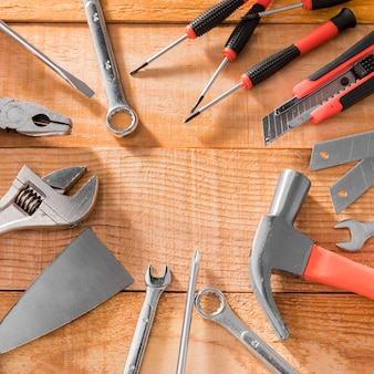 Bastidor de herramientas mecanicas