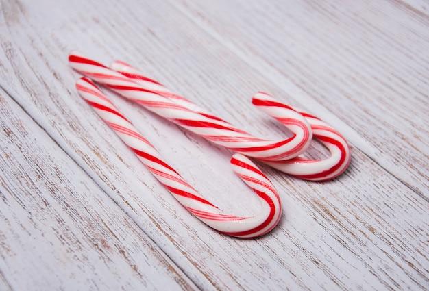 Bastón de caramelo de navidad
