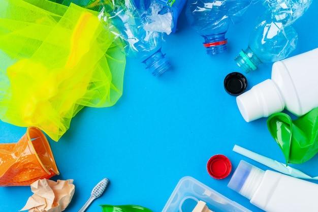Basura preparada para reciclar
