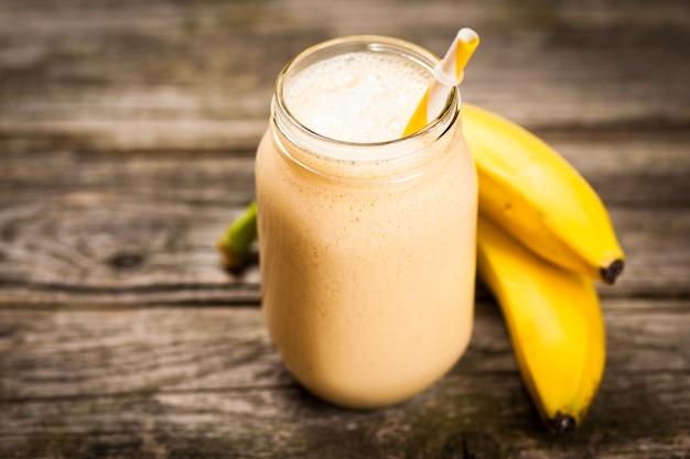 Batido de plátano fresco