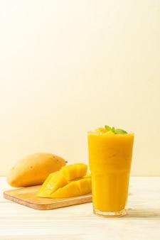 Batidos de mango fresco