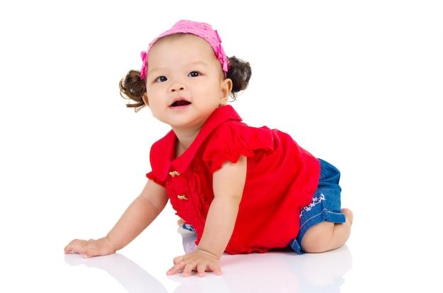 Bebé asiático
