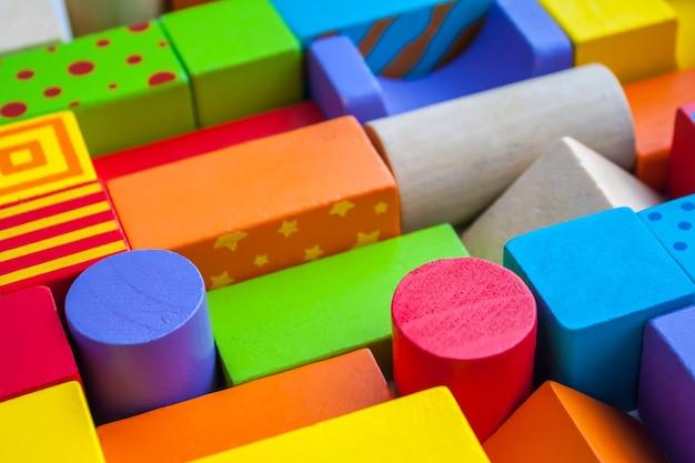 Bebé constructor de madera juego de formas geométricas