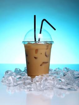 Bebida de café frío