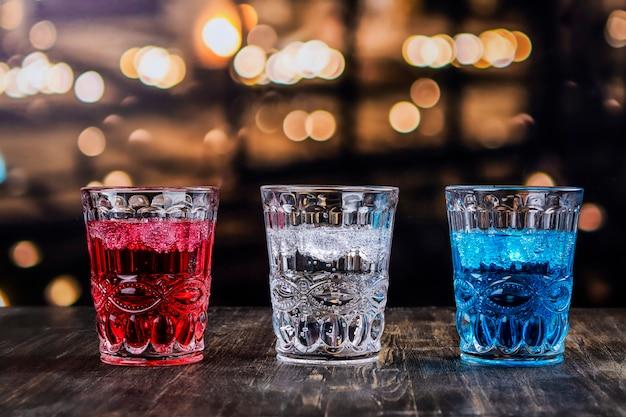 Bebidas para la celebración del 4 de julio.