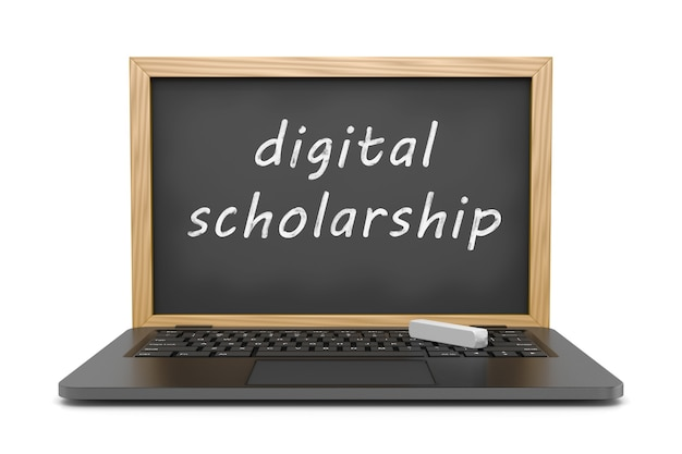 Beca digital, concepto de lecciones en línea