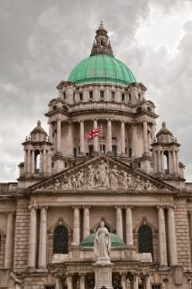 Belfast city hall hdr