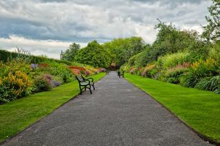 Belfast jardines botánicos hdr irlanda