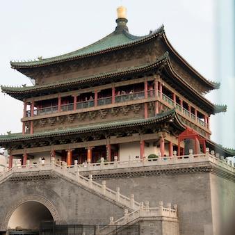 Bell tower, xi'an, shaanxi, china.